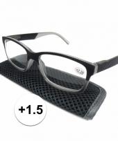 1 5 leesbrillen antraciet