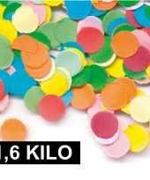 1 6 kilo zak feest snippers gekleurd