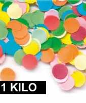 1 kilo zak feest snippers gekleurd