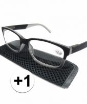 1 leesbrillen antraciet