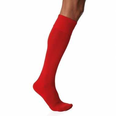 1 paar hoge sokken rood