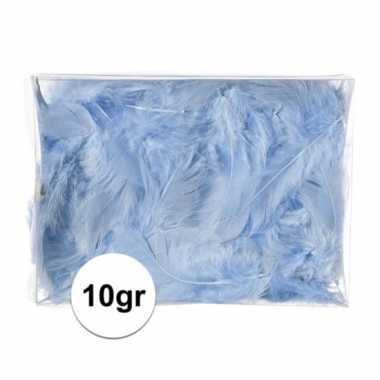 10 gram deco donsveren blauw