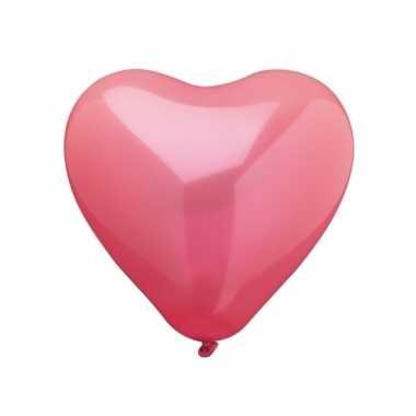 10 hartjes ballonnen 26 cm