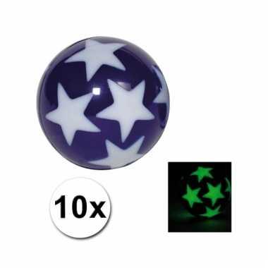 10 lichtgevende stuiterballen