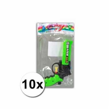 10 speelgoed waterpistolen 16 cm