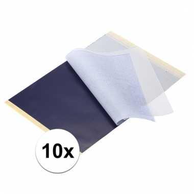 10 stuks a4 carbonpapier