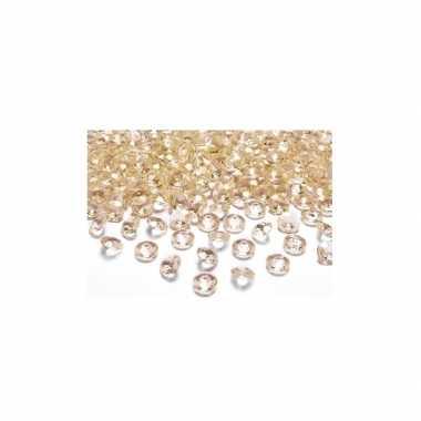 100 edelsteentjes goud 2 cm