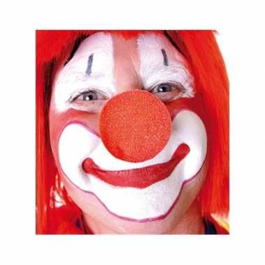 100x rode opzet clownsneus foam