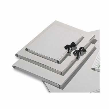 10x a3 mappen blanco voor tekeningen