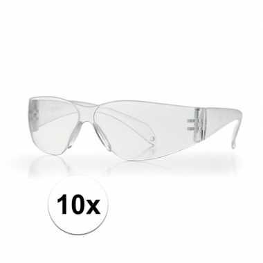 10x beschermende vuurwerkbril voor kinderen