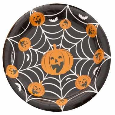 10x halloween wegwerp bordjes