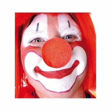 10x rode opzet clownsneus foam