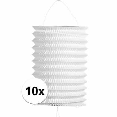10x treklampionnen wit