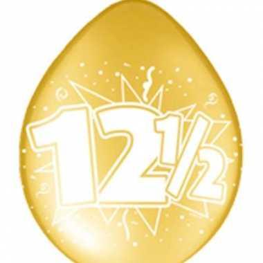 12,5 jaar jubileum ballon set 16x