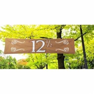 12,5 jaar jubileum banner koper