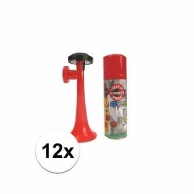12 gas toeters 70 ml