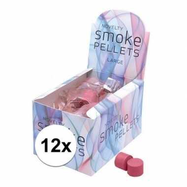12 rode rook tabletjes