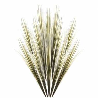 12x gras nep takken 58 cm groen