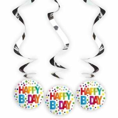 12x happy birthday rotorspiralen