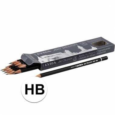 12x hb potloden hardheid hb