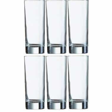12x longdrink sap glazen 330ml