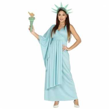 3 delige vrijheidsbeeld jurk voor dames