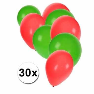 30 stuks ballonnen kleuren portugal 10087278