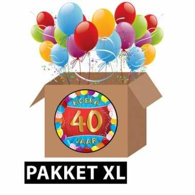 artikelen 40 jaar 40 jaar party artikelen pakket xl | Pchoofdstraat.nl artikelen 40 jaar