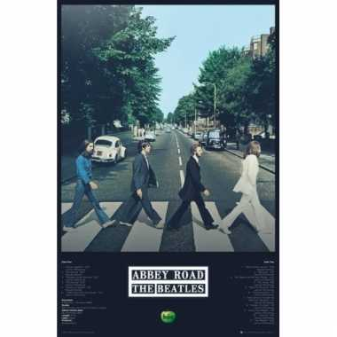 Abbey road poster 91,5 cm