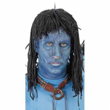 Aboriginal pruik voor heren met zwarte dreads