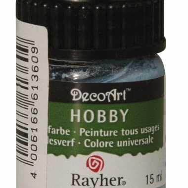 Acrylverf in de kleur lichtblauw 15 ml