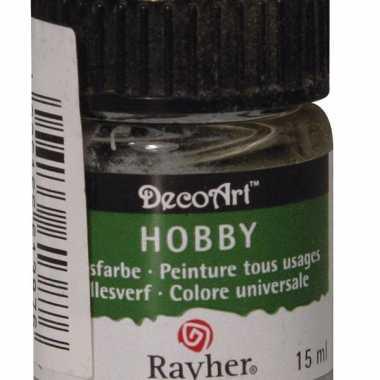 Acrylverf in de kleur lichtgrijs 15 ml