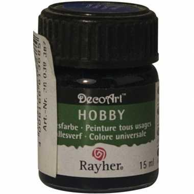Acrylverf in de kleur navy 15 ml