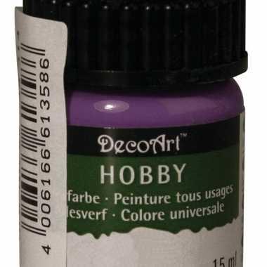 Acrylverf in de kleur paars 15 ml