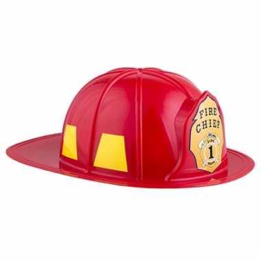 Adult size brandweer helm