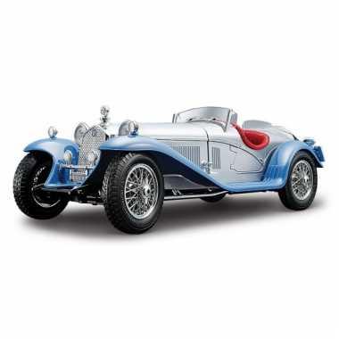 Alfa romeo 8c 2300 spider zilver schaalmodel 1:18