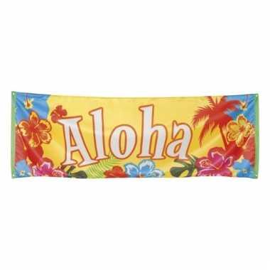 Aloha spandoeken hawaii thema