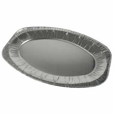 Aluminium saladeschalen 3 stuks