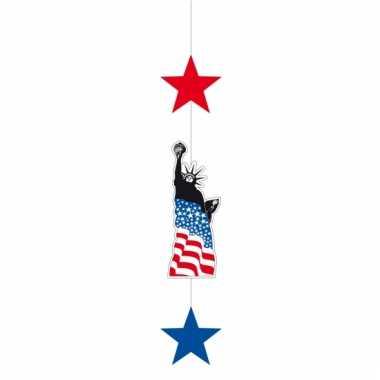 America hangdecoratie met sterren 105 cm