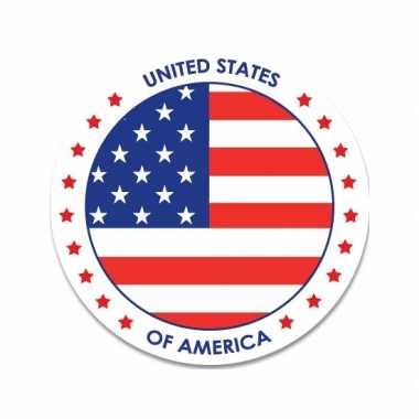 Amerika stickers 14,8 cm