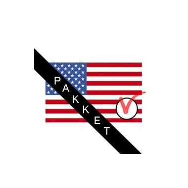 Amerika verkiezingen versier pakket