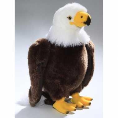 Amerikaanse adelaar roofvogel knuffeldier 30 cm