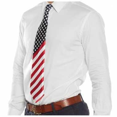 Amerikaanse feestartikelen verkleed stropdassen