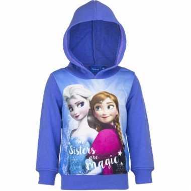 Anna en elsa sweater paars