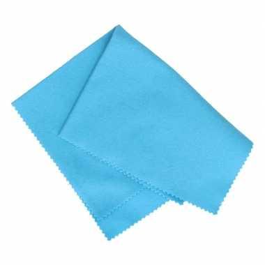 Anti condens doekje blauw 35 cm voor autoramen
