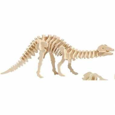 Apatosaurus houten bouwpakket