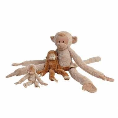 Apen knuffels 45 cm beige