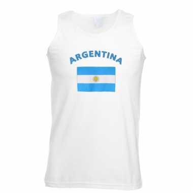 Argentijnse vlaggen tanktop/ t-shirt