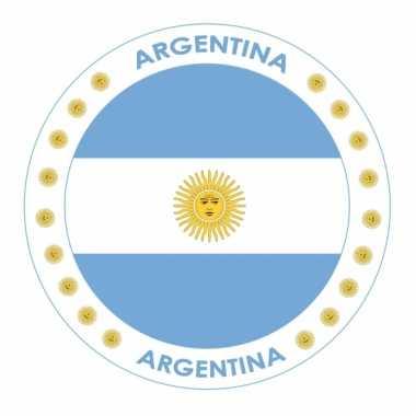 Argentini? vlag print bierviltjes