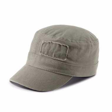 Army cap kaky voor volwassenen
